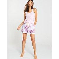 Joules Betsy Woven Pyjama Shorts - Multi, Multi, Size 8, Women