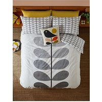 Product photograph showing Orla Kiely House Placement Scribble Stem Duvet Cover
