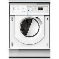 Indesit Biwmil71452 7Kg Load, 1400 Spin Washing Machine - White - Washing Machine Only