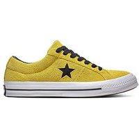 Converse One Star, Yellow/White, Size 7, Men