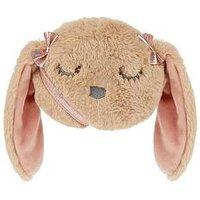 Monsoon Girls Snoozy Bunny Cushion Bag, Mink