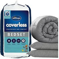 Product photograph showing Silentnight No Cover Needed Washable 10 5 Tog Duvet And Pillow Set