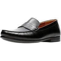 Clarks Claude Lane Loafer, Black, Size 11, Men