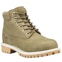Timberland 6inch Premium Classic Boots - Olive, Olive, Size 13 Younger