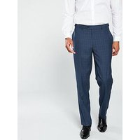 Skopes Saltley Pow Tailored Fit Trouser - Blue, Blue, Size 32R, Men