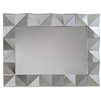 Product photograph showing Arthouse Geometric Wall Mirror