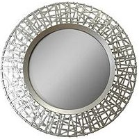 Product photograph showing Arthouse Gold Decorative Circular Mirror
