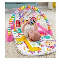 Fisher-Price Deluxe Kick & Play Gym - Pink, One Colour