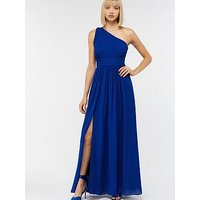 Monsoon Dani One Shoulder Maxi Dress