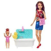 Barbie Babysitter- Bath Time Fun