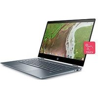 HP Chromebook x360 14 i3 14 inch IPS eMMC Convertible White