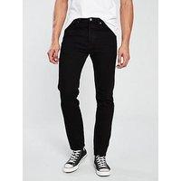 Levi's 501 Slim Taper Jean - Black, Black Od, Size 34, Length Long, Men