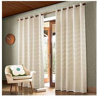 Orla Kiely Jacquard Stem Eyelet Curtains 66X54