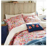 Joules Hollyhock Meadow 100% Cotton Duvet Cover