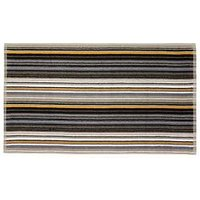 Product photograph showing Christy Barcode Stripe Towel Range - Bath Sheet