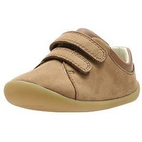 Clarks Toddler Roamer Craft Leather Shoe, Tan, Size 5 Younger