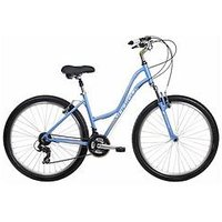Indigo Indigo Capri 'Pathway' Ladies Mountain Bike 14 Frame, Blue, Women