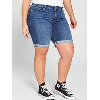 Levi's Plus Shaping Bermuda Shorts, Breeze Along Plus, Size 22, Women