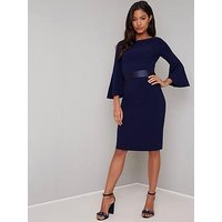 Chi Chi London Chi Chi London Beau Waist Detail Midi Dress