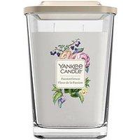 Product photograph showing Yankee Candle Elevation Collection - Passionflower Large Jar Candle