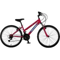 Venus Front Suspension Girls Mountain Bike 24 Inch Wheel