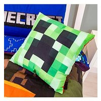 Product photograph showing Minecraft Square Cushion