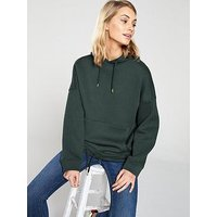 V by Very Oversized Hoodie - Forest Green, Forest Green, Size 22, Women
