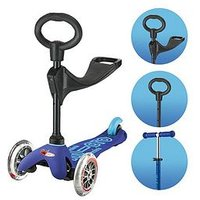 Micro Scooter 3 In 1 Mini -Deluxe Blue