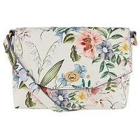 Accessorize Kenzie Floral Printed Crossbody, One Colour, Women