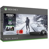 Xbox One X Metro X 1Tb Console Trilogy Bundle