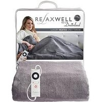 Product photograph showing Dreamland Relaxwell Luxury Heated Throw