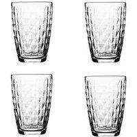 Product photograph showing Ravenhead Essentials Jewel Hi-ball Tumbler Glasses Ndash Set Of 4