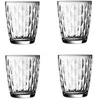 Product photograph showing Ravenhead Essentials Jewel Mixer Tumbler Glasses Ndash Set Of 4