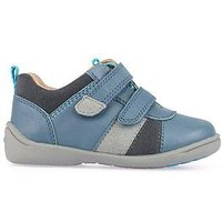 Start-rite Infant Boys Grip Strap Shoes - Blue, Blue, Size 4.5 Younger