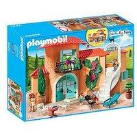 Playmobil Playmobil 9420 Family Fun Summer Villa With Balcony