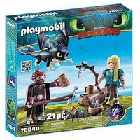 Playmobil Dreamworks Dragons Hiccup And Astrid By Playmobil