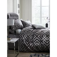 Product photograph showing Laurence Llewelyn-bowen Sanremo Geometric Duvet Cover Set