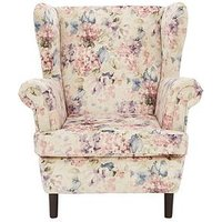 Florence Fabric Wing Chair