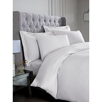 Product photograph showing Hotel Collection Snakeskin 300 Thread Count Duvet Cover And Pillowcase Set