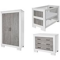 Product photograph showing Babystyle Chicago 3 Piece Room Set