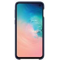 Samsung Galaxy S10E Leather Cover - Navy