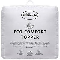 Product photograph showing Silentnight Eco Comfort Topper