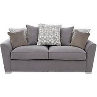 Product photograph showing Links Fabric 3 Seater Scatter Back Sofa