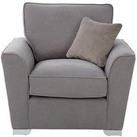 Product photograph showing Links Fabric Armchair