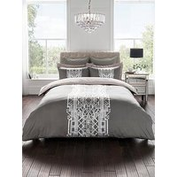 Product photograph showing Sam Faiers Cruz 100 Cotton Sateen Duvet Cover Set
