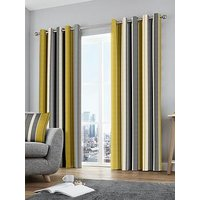 Product photograph showing Whitworth Lined Eyelet Curtains