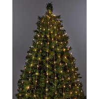 Product photograph showing 200 Led Copper Horsetail Christmas Tree Lights