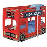 Product photograph showing Julian Bowen London Bus Bunk Bed