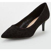 V By Very Sindy Wide Fit Kitten Heel Shoe