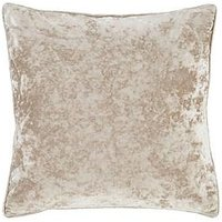 Product photograph showing Catherine Lansfield Crushed Velvet Cushion